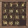 15 Square Slider Puzzle