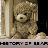 History of bear. Find objects
