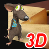 3D Real Puzzle Mouse and Cat