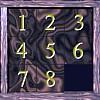 8 Square Slider Puzzle – Classic
