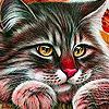 Alone sitting cats puzzle