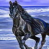 Amazing horses in the beach puzzle