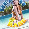 Beach Babe Sliding Puzzle