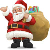 Big Santa find numbers
