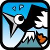 Black crow. Hidden objects