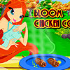 Bloom Chicken Cooking