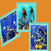 Blue ocean fishes  puzzle