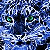 Blue tiger puzzle