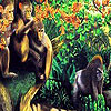 Chimpanzees in the jungle puzzle