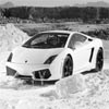 Classic White Car