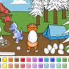 Color Games – Egg Hunt Dinosaurs