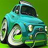 Colored car slide puzzle