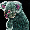 Cumbersome koala slide puzzle