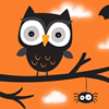 Cute Black Owl