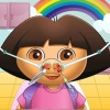 Cute Girl Nose Doctor