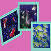 Deep water fishes puzzle