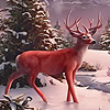 Deers in the snow puzzle