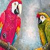 Dizzy parrots puzzle
