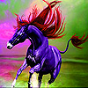 Dream horse in the sea slide puzzle