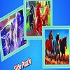 Dream horses in the beach puzzle