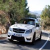 Drifting Mercedes-Benz Sliding