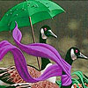 Ducks in the rainy day puzzle