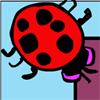 Evil Lady Bug Pong