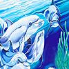 Fantastic ocean dolphins hidden numbers