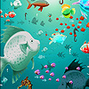 Fantastic ocean sea fishes puzzle