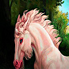 Fantasy horse in the woods puzzle