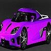 Fast purple car slide puzzle