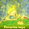 Favorite toys. Find objects