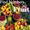 Find Numbers – Fruit