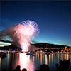 Fireworks Over the Lake Jigsaw Puzzle