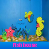 Fish house. Find objects