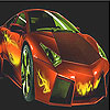 Flame fast car slide puzzle