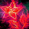 Flame rose puzzle