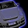 free puzzle with porsche car