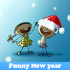 Funny New year. Find objects