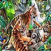 Funny tigers puzzle