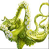 Green octopus slide puzzle