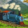 Happy train jigsaw puzzle