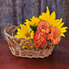 Jigsaw: Basket of Flowers