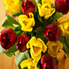 Jigsaw: Red And Yellow Tulips