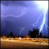 Jigsaw thunderstorm