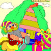 Kid's coloring: The Gifts