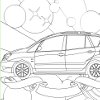 Kid's coloring: Toyota Corolla