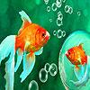 Little aquarium fishes puzzle