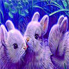 Lovely rabbit family puzzle