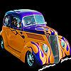 Marginal concept car slide puzzle